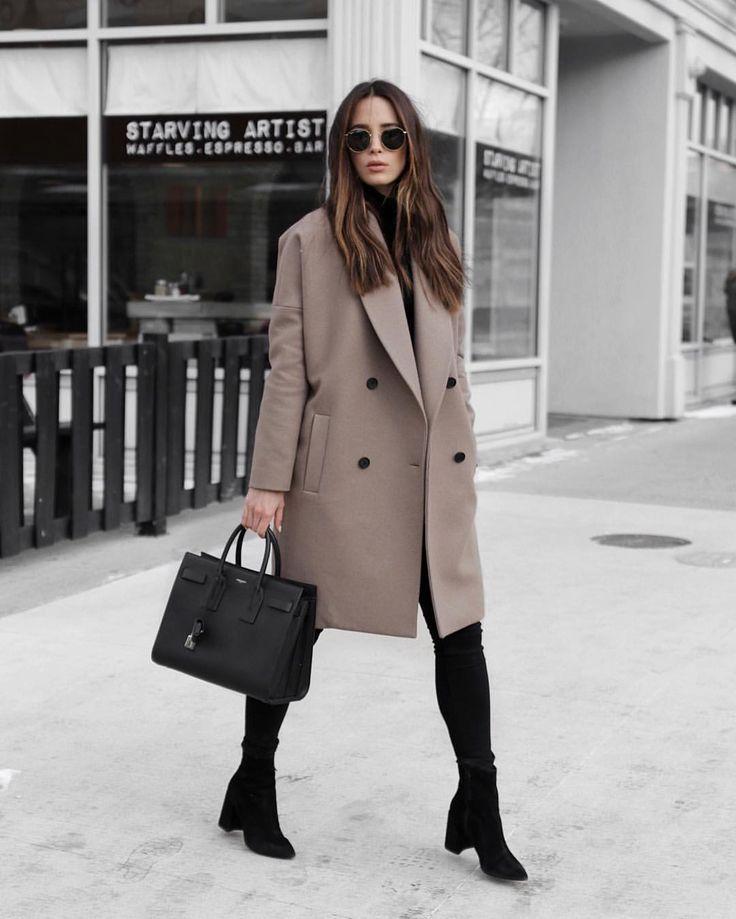 Camel Coat Outfit c/o @jodiblk_ • 388 likes