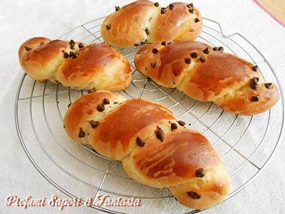 Treccine di pan brioche Bimby