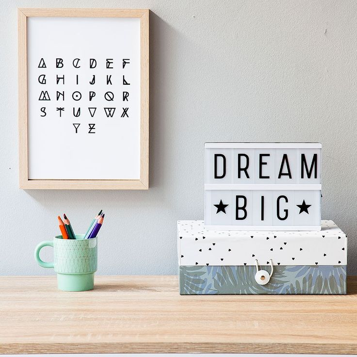 The Coolest Customizable Art: Felt Letter Boards and Black Light Boxes