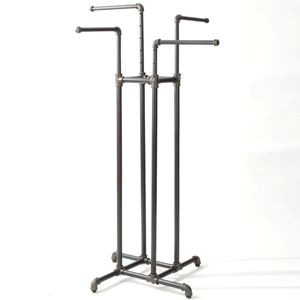 4 way pipe rack.  I am looking at mixing different price ranges for these racks...but I would like to replace the crome racks after seeing what is out there.