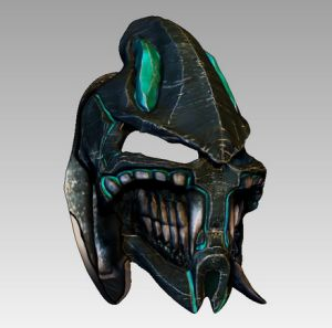 underworld helmet 3d concept