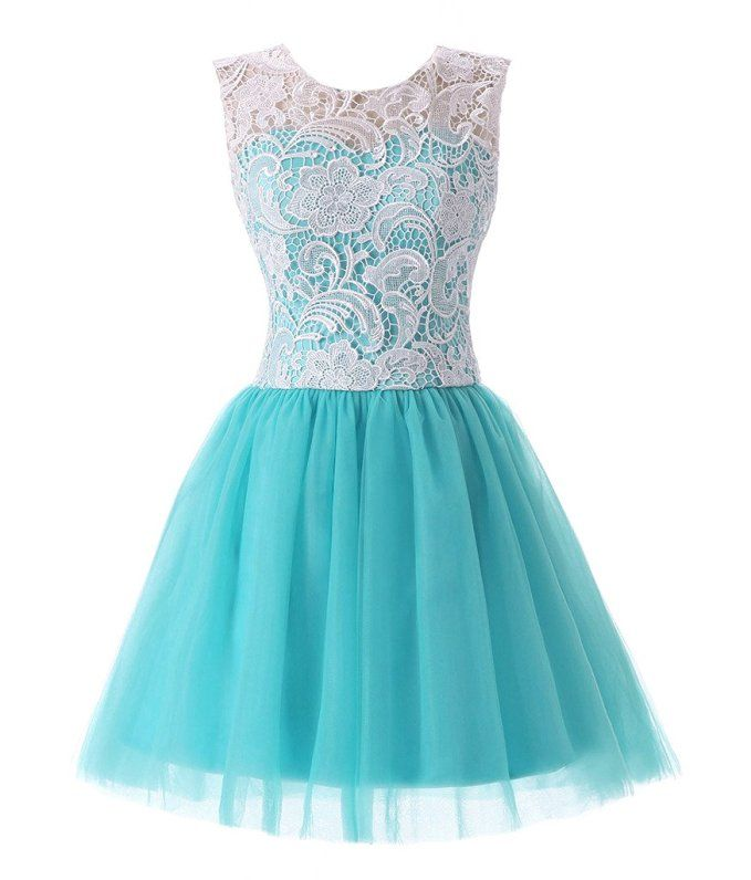 RohmBridal Women's Short Lace Tulle Prom Homecoming Dress: Amazon Fashion