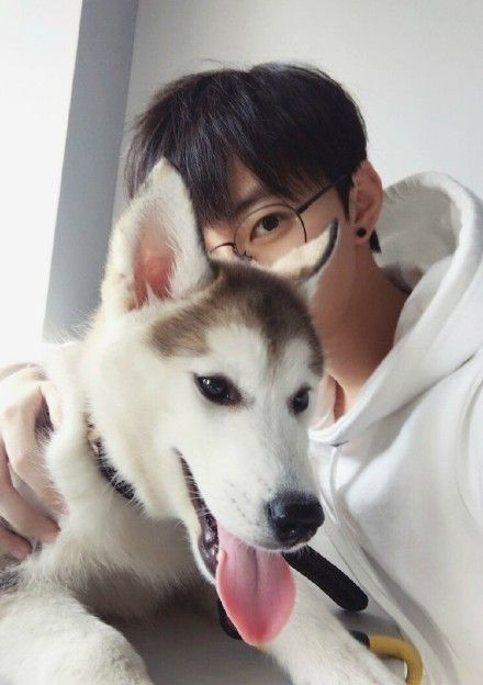 174 best ulzzang images on pinterest asia girl cute girls and all i want in life right here a cute boy and an adorable husky voltagebd Gallery