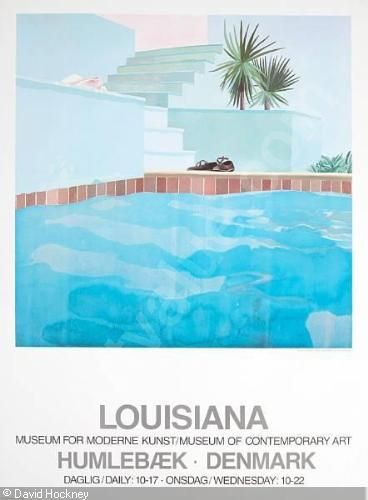 HOCKNEY David - 1) Louisiana Museum for Moderne Kunst/Museum of Contemporary Art; 2) The Australian National Gallery, Canberra (variant)