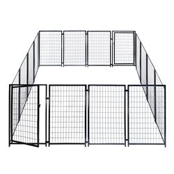 You may check this Useful #AlekoProducts. ALEKO®  2DK5X5X4SQ Dog Kennel Heavy…