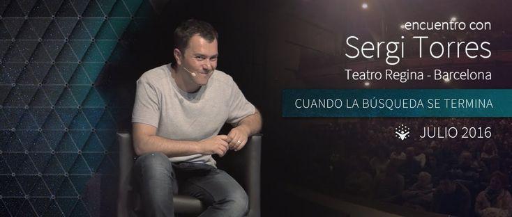"""SERGI TORRES - """"Cuando la búsqueda termina"""" - Barcelona, Teatro Regina -..."""