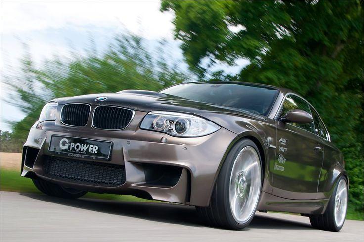 Die Tuner von G-Power haben den V8-Motor aus dem BMW M3 in den 1er gepackt und ihn mittels Kompressor aufgeladen