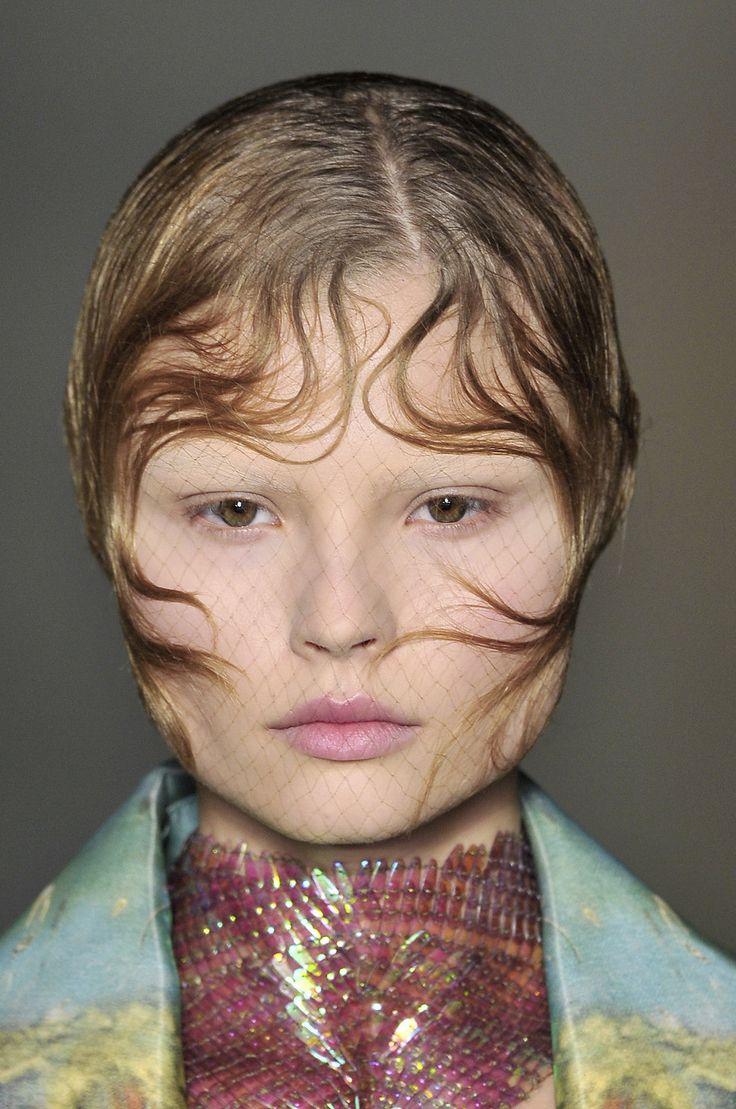 Magdalena Frackowiak at Alexander McQueen, S/S 2009
