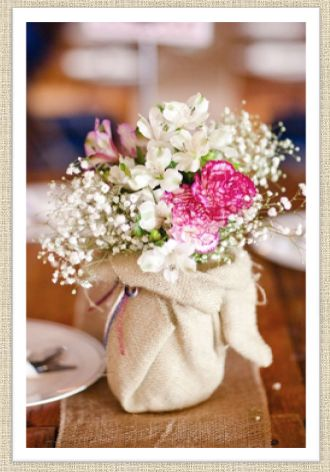 Gypsohpila, carnations, alstro with muslin/cheesecloth. screen-shot-2012-04-08-at-5-20-02-pm.png (330×472)