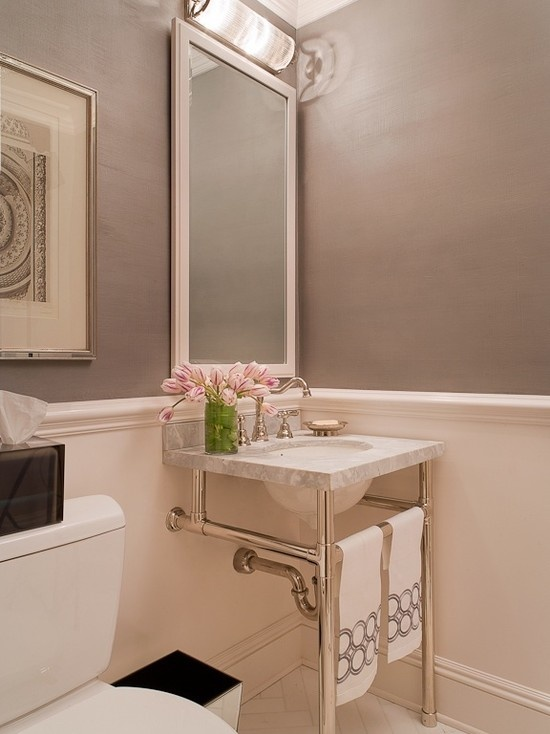 Powder room design pictures remodel decor and ideas i - Powder room sink ideas ...