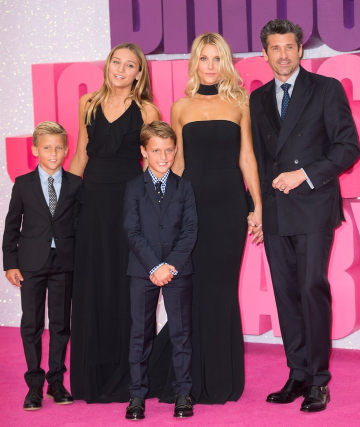 Patrick Dempsey Hits the Red Carpet With Formerly Estranged Wife Jillian Fink and Their Kids — See the Pics!
