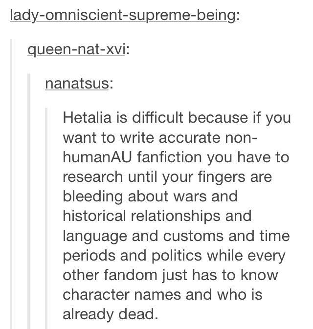 Hetalia Fanfiction part 1 of 2<<Where majoring in History at a European University has its advantages...