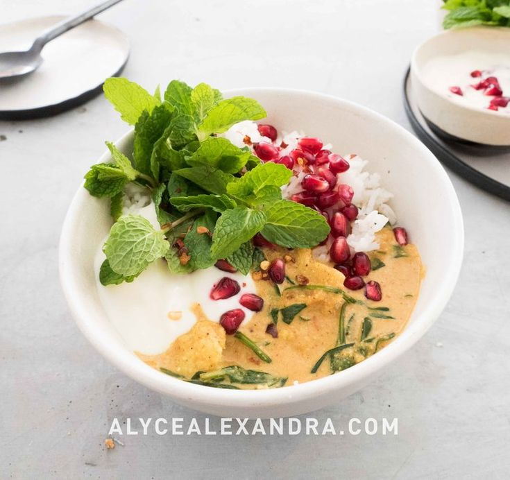 Cauliflower Curry — alyce alexandra