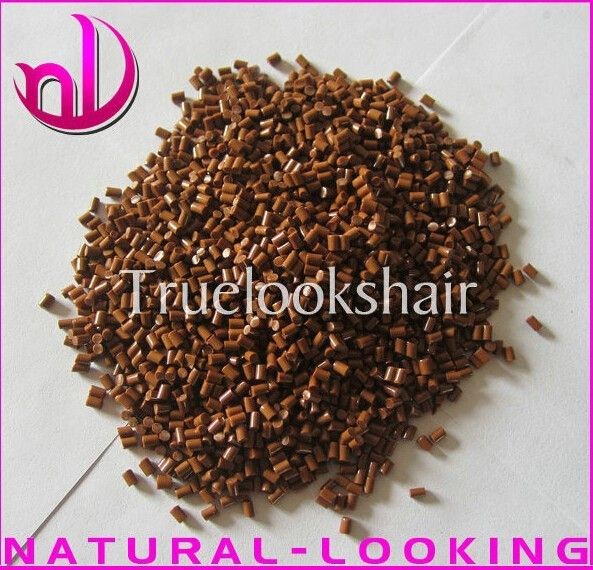 Free shipping,20g/lot Italian Keratin Grains For Pre-bonded Hair Extension Tools In Brown Color 100%Italian Keratin Glue Granlue