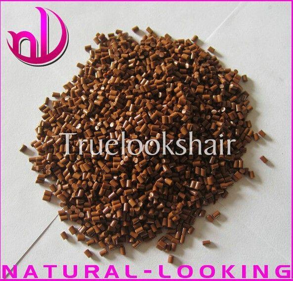 Free shipping,20g/lot Italian Keratin Grains For Pre-bonded Hair Extension Tools In Brown Color 100%Italian Keratin Glue Granlue
