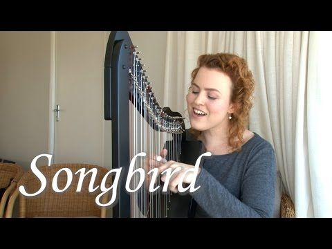 Songbird - harp/voice (Christy-Lyn) - YouTube