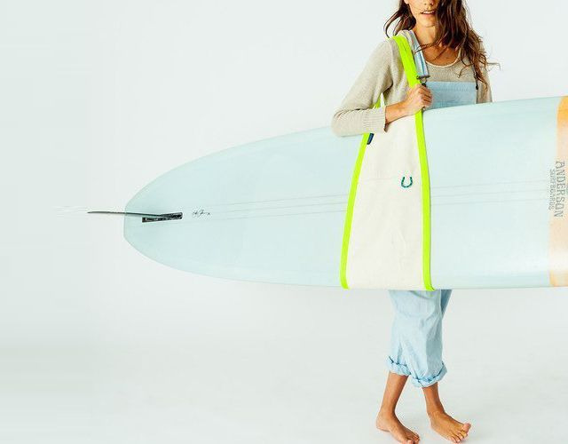 Surf Sling by NY boutique bag company Baggu / Top Surf Gear Gadgets Wetsuits surfboards on Knstrct