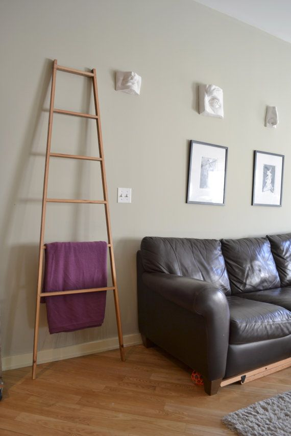 Leaning Display Ladder by decoratelier on Etsy, $275.00