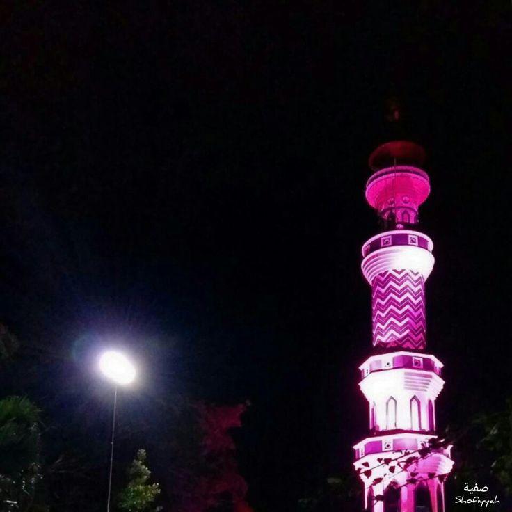 Menara Masjid Raya Cilacap