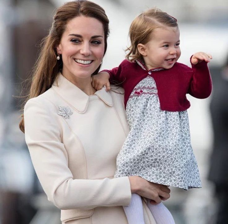Catherine and Charlotte - Canada Royal Tour 2016