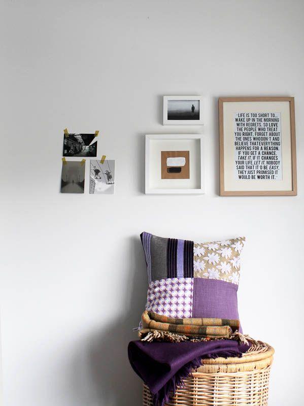 17 beste idee n over paarse kussens op pinterest paarse accenten appartement slaapkamer decor - Beige kamer en paarse ...