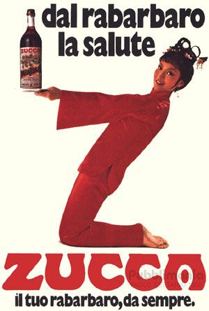 Pubblicità anni '70: rabarbaro Zucca