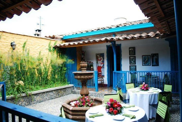 un típico patio antioqueño, en #Medellin #Antioquia. #FotoDelDia EnMiColombia.com