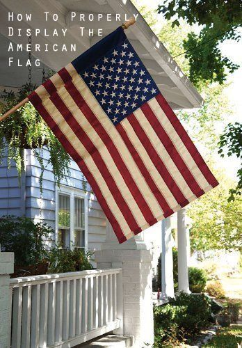 Many Americans will be proudly flying the American flag this weekend in honor of Independence Day. We thought it might be a good time to refresh our memories on how to respectfully display the stars and stripes!