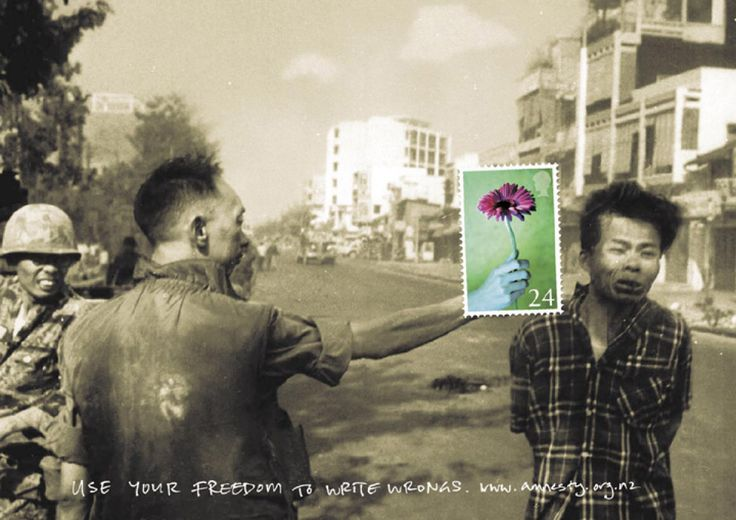 Pub controversée: I Observed That The Campaigns, B Adverti, Amnesty International Poster, Advertising Campaigns, South Vietnamese, Worthi Adverti, Photo, I Noticed A Poster, Creative Inspiration