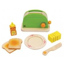 Hape - Kitchen Role Play Rise 'n Shine Pop-Up Toaster $27 discount toy co