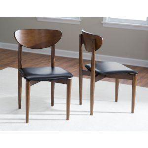 Belham Living Carter Mid-Century Modern Dining Chair - Set of 2 - Dining Chairs at Hayneedle