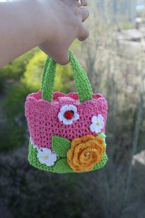 Little Girls Spring Purse