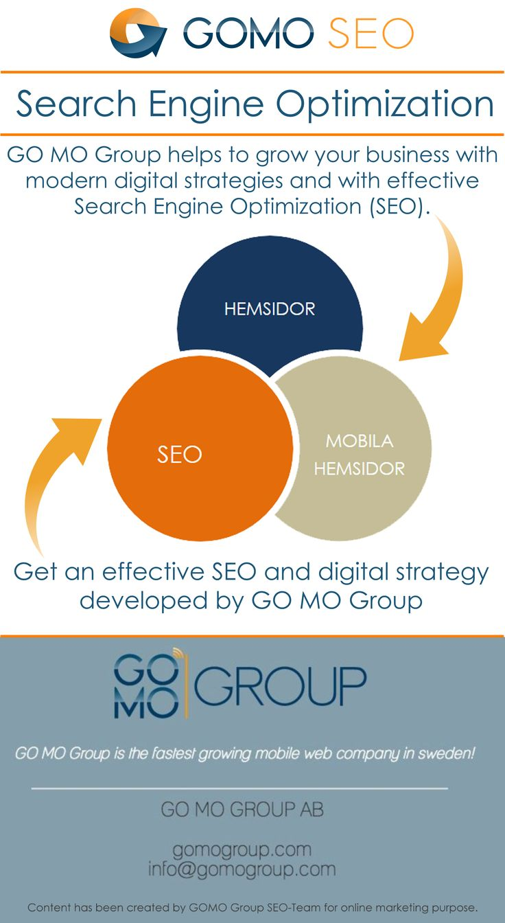 GO MO Group helps to grow your business with modern digital strategies and with effective SEO
