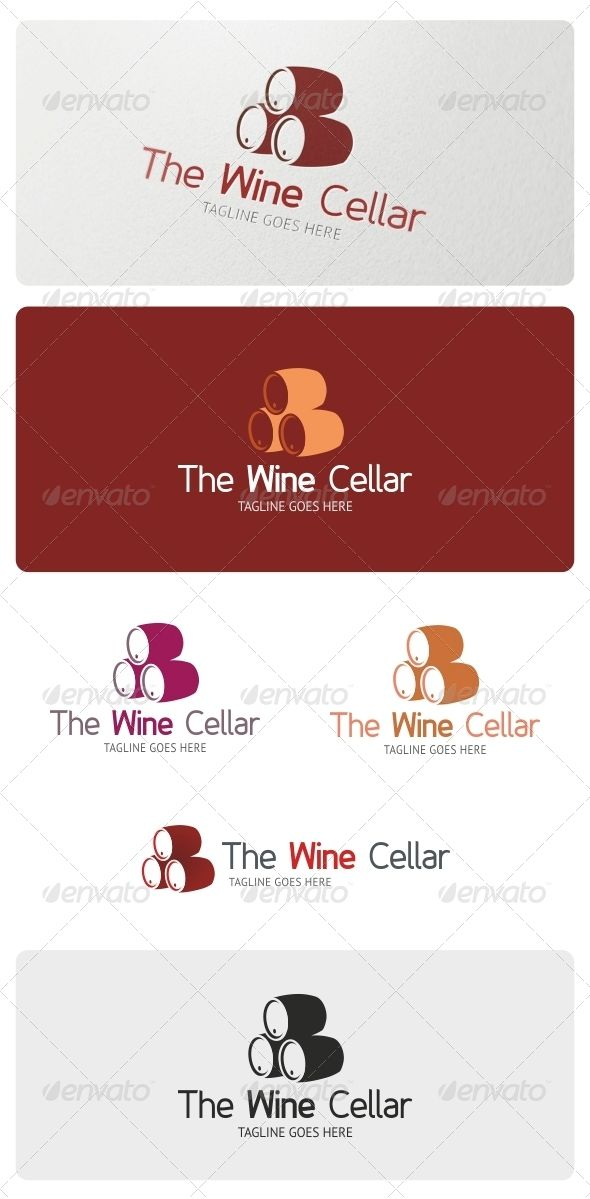 Wine Cellar Logo Template  #GraphicRiver         Wine Cellar Logo is highly suitable for vineyard, wine makers, beer makers, viticulture, barrel makers, wine cellar, wine distributor and many others.  Features:  3 Vector Files included: AI, EPS, and CDR   3 Color variations   1 Grayscale Version  1 Black & White Version  Layered     Fonts used:   Fineness  PT-Sans     If you have any problems with your purchase feel free to contact me using my Profile Page      Please, don't forget to Vote…