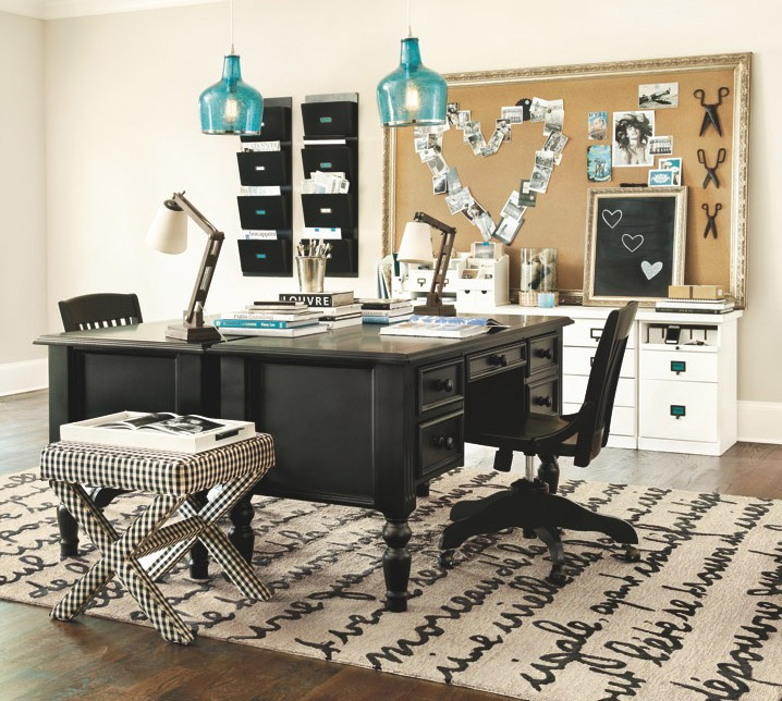 All Items now available at ballarddesigns.com: Crafts Rooms, Offices Spaces, Bulletin Boards, Corks Boards, Offices Ideas, Wall Pockets, Offices Decor, Home Offices, Ballard Design