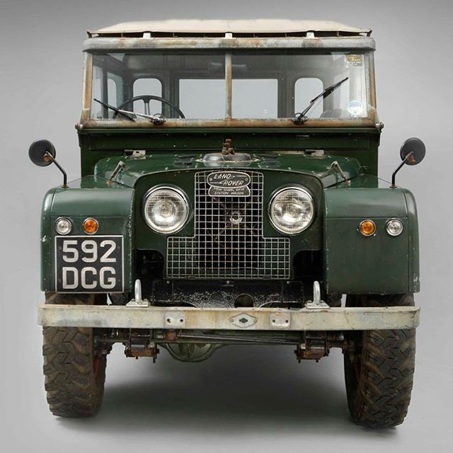 Land rover series one.