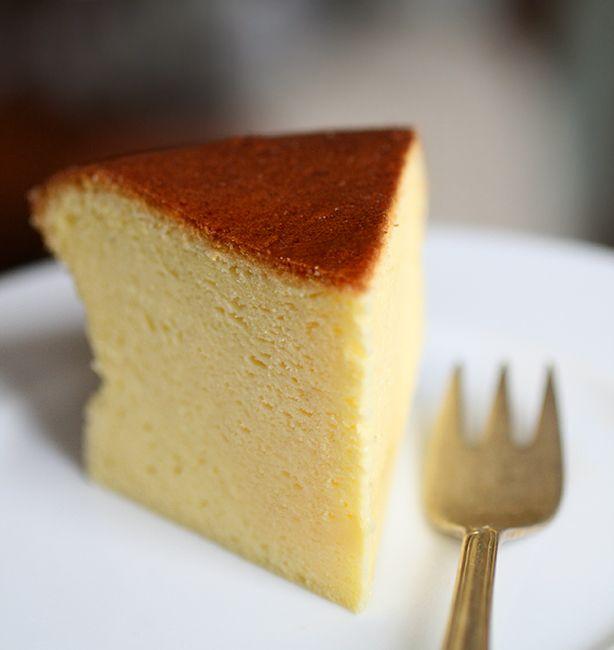 Cheesecake giapponese | http://www.ilpastonudo.it/dolci/cheesecake-giapponese/