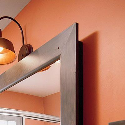 Don't be conservative with color. Terra-cotta shade for my guest bathroom =)