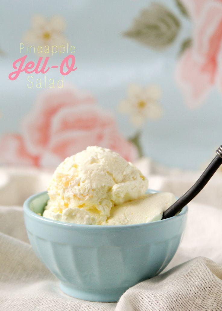 Pineapple Jell-O Salad!!