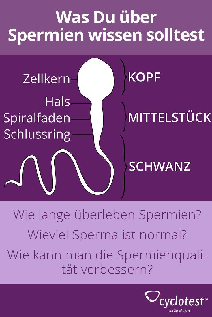 überleben spermien an der luft