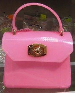 Mini Pink Jelly Handbag