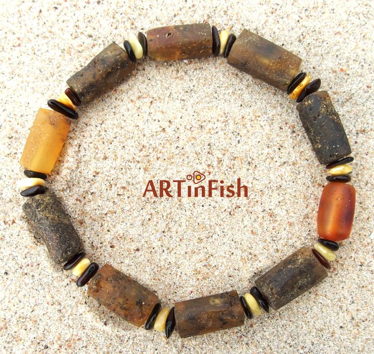Genuine Baltic Amber ANKLET or BRACELET for adults. 100% natural beads…