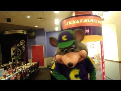 Cupid Shuffle Chuck E. Cheese style!!! Oh my!