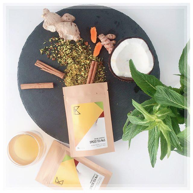 SUPER NEW! The newest tea: Spiced Tea No.5 - a Thailand inspired tea with creamy coconut, green mint and golden turmeric! Come and help us welcome our newest member @paddingtonmarkets this Saturday! It taste like sunshine ☀️☀️☀️ #turmeric - - - #goldenchai #organictea #tastek #tastekaleidoscope #turmerictea