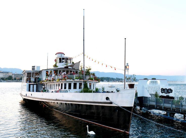 https://flic.kr/p/Csg8tw | Geneva Switzerland boat | Travel Europe without visas GENEVA SWITZERLAND The fountain JET-D'O was wet under it