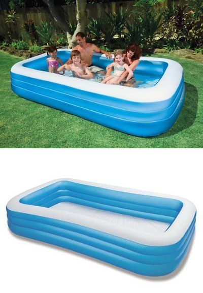 Inflatable and Kid Pools 116407: Intex Swim Center Family ...