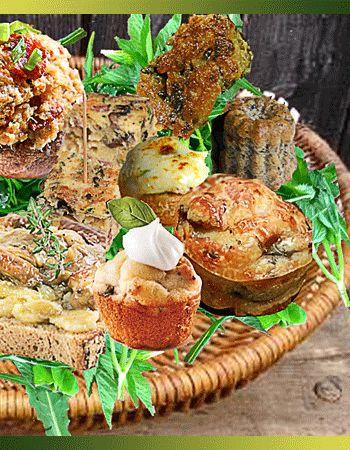 10 idées Apéro à base de champignons | Recettes à base de ...