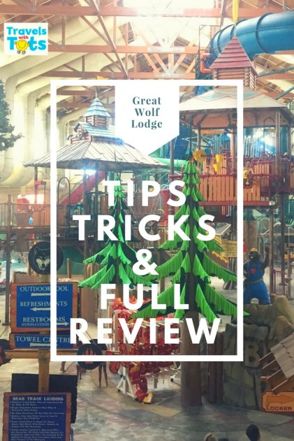 Considering visiting Great Wolf Lodge?  Check out my tips, tricks and full review.