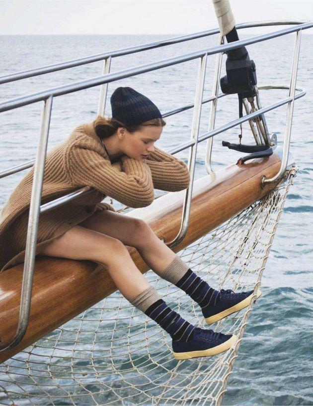 Sail the seven seas.