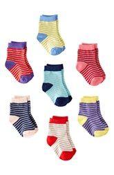 Mini Boden Socks (7-Pack) (Baby)